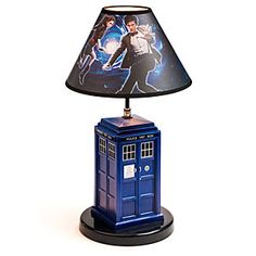 $50 Doctor Who TARDIS Table Lamp
