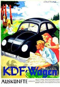 Werbung für den KdF-Wagen