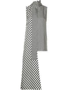 MONSE long tie sleeveless blouse. #monse #cloth #블라우스