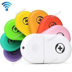 360 2nd Portable Mini USB Wifi Wireless Broadband Router Wifi Adapter w/ 10TB Cloud U Disk - Color Assorted ECAHP-279351