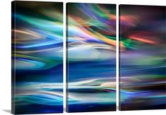 make a triptych out of any wall canvas available