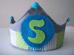 DIY corona de cumpleaños para niños