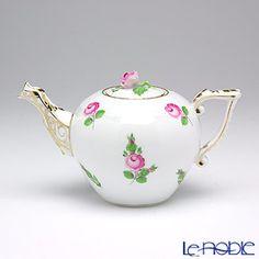 Herend Petite rose 00608-0-09 Tea pot (rose)