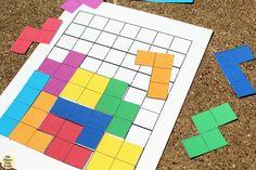 Tetris printable game