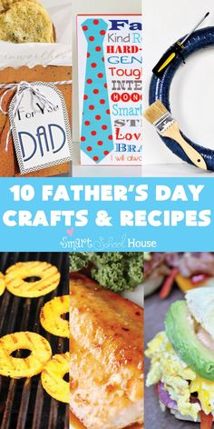 Fathers Day: 10 Craft and Recipe Ideas