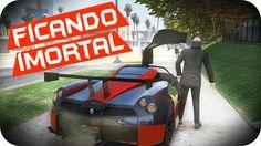 GTA 5 PC Online - FICANDO IMORTAL NO GTA V HU3
