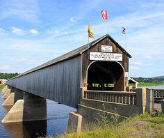 World's Longest Bridges: Longest Covered Bridge: The Hartland Bridge, New Brunswick, Canada