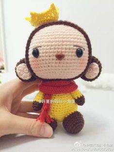 원숭이왕자♡ :: 손뜨개인형도안, 인형뜨기, : 네이버 블로그