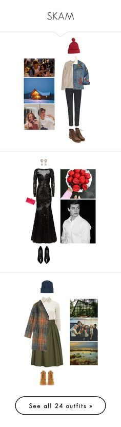 """SKAM"" by asmin ❤ liked on Polyvore featuring Topshop, MANGO, Gucci, Opening Ceremony, Loverosie, skam, Jovani, Yves Saint Laurent, Edie Parker and Dolce&Gabbana"