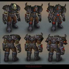 Armorsets (World of Warcraft), Tamara Bakhlycheva World Of Warcraft Game, World Of Warcraft Characters, Warcraft Art, Game Character, Character Concept, Character Reference, Armor Concept, Concept Art, Orc Armor