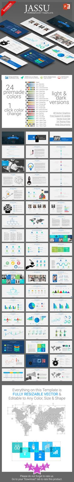 Jassu PowerPoint Template is suitable for any Business Presentations. #JassuPowerPoint #1studio #GraphicRiver #PowerPoint