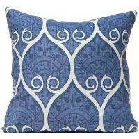 Spade Ogee - Navy Pillow