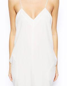 Crisp white jumpsuit