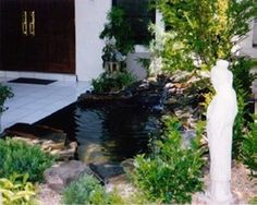 Ponds | Uni-Scape Waterfalls, Natural Stone Work, Ponds, Swimming Pool and Spa Renovation, Flagstone Patios and Outdoor Kitchens.