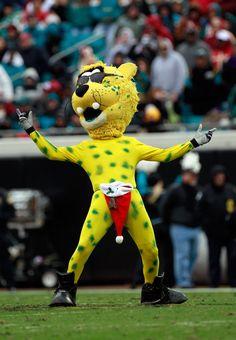 Our wonderfully whacky mascot...  Jaxson DeVille