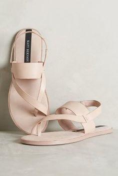 #AnthroFave Matt Bernson Athena Sandals Blush 10 Sandals