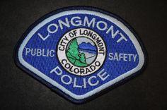Longmont Police Patch, Boulder County, Colorado
