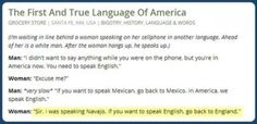 bap, bap, lol.i had to snicker,lol.perspective.................................the real language of america
