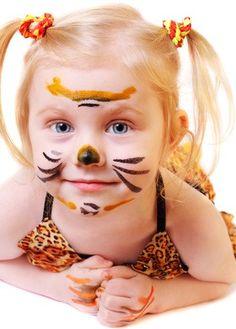 Halloween Makeup | Cat-Girl Halloween Makeup for Little Girls