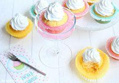 Rezepte mit Herz ♥: 30 Sekunden Cupcakes mit Marshmallow Frosting