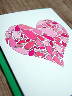 """Heart Drops"" Happy Cactus Designs on Oh So Beautiful Paper!"