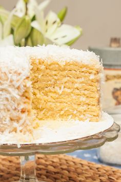 Ten layers of coconutty perfection. This Coconut Smith Island Cake is sure to be a showstopper on your springtime supper table!