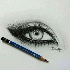 Eyes art