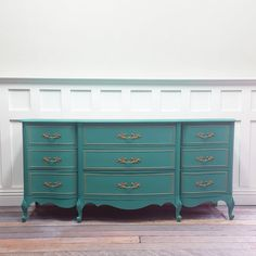 SOLD Provence Aqua French Provincial SOLD by VintageRehabs