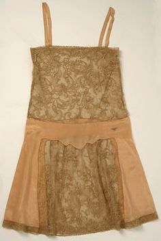 1929 American cotton slip. From the Met