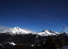 Snowshoeing Cascade Mountains