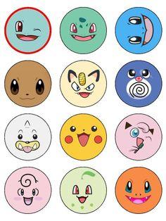 Geburtstag Pokemon Faces A personal skin care program for you Why is it that al Festa Pokemon Go, Pokemon Party, Pokemon Pinata, Pokemon Birthday Cake, Pokemon Pokemon, Cake Birthday, Pikachu, Pokemon Cupcakes Toppers, Cupcake Toppers