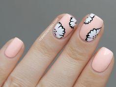 These DIY floral nail art designs will take your nail polishing skills to a whole new level! Nails Opi, Get Nails, Hair And Nails, Jolie Nail Art, Do It Yourself Nails, Floral Nail Art, Flower Nails, Daisy Nails, Creative Nails