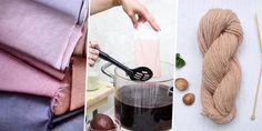 Teinture naturelle: comment fabriquer sa teinture végétale? - Marie Claire
