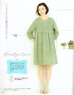 Easy & Kawaii OnePiece Dress Japanese Sewing by JapanLovelyCrafts