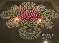 Chikku kolams were actually not a passion of mine, ,, yet I used to admire few of my friends creations and my made my own patterns with. Rangoli Border Designs, Rangoli Designs With Dots, Beautiful Rangoli Designs, Hobbies And Crafts, Arts And Crafts, Alpona Design, Diwali Decorations At Home, Rangoli Borders, Padi Kolam