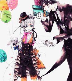 Black Butler - Ciel & Sebastian