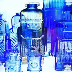 Matka, Retro, Glass, Vintage, Design, Drinkware, Corning Glass, Vintage Comics