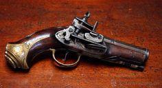 Pistola de Ripoll, pedernal.