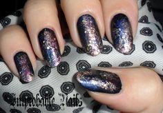 """Improbable Nails: """"Galaxy?!?"""" nails"""