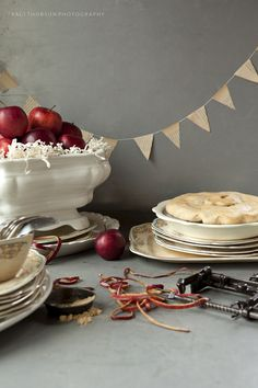 Pie*ography { XII } – Ginger Apple Jam pie Photography - Traci Thorson Baking/Styling - Anne Marie Klaske