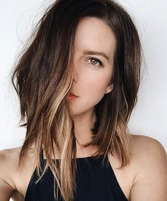New hair color balayage caramel summer long bobs 60 Ideas Summer Hairstyles, Pretty Hairstyles, Bob Hairstyles, Summer Haircuts, Edgy Bob Haircuts, Beautiful Haircuts, Wedding Hairstyles, Hair Day, New Hair