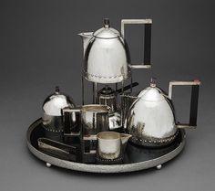 Josef Hoffmann: Tea service (2000.278.1-.9) | Heilbrunn Timeline of Art History | The Metropolitan Museum of Art