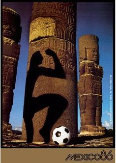 1986 FIFA World Cup Mexico, official poster. Soccer Art, Soccer Poster, Football Art, Football Posters, Sports Posters, World Cup Russia 2018, World Cup 2014, Fifa World Cup, Mexico World Cup