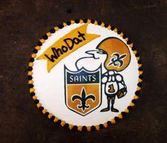 New Orleans Saints Cake Bake Your Day, LLC - Alexandria, LA www.facebook.com/bakeyourdayllc (318) 229-0299 bakeyourdayllc@hotmail.com