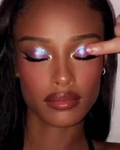 PAT McGRATH LABS | Easy Eye & Lip Makeup Tutorial⚡⚡Diffuse 'XTREME PLUM NOIR' thru crease & add Skin Fetish Highlighter+Balm Duo in 'NUDE' & 'BRONZE' & 'ASTRAL AMETHYST MOON' to lid. Apply 'ASTRAL VENUSIAN ORCHID' to inner third of lid & corner. Line lash line with Perma Precision Liquid Eyeliner, extend to wing. Blend 'BUFF' PermaGel Ultra Lip Pencil & line perimeter with 'BROWNOUVEAUX' PermaGel Ultra Lip Pencil. Blend & finish with 'PEACH PERVERSION'⚡⚡SHOP now PATMcGRATH.COM.