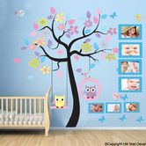 Found it at Wayfair Australia - Owls, Large Cot Side Tree and Photo Frames DIY Kids Removable Wall Decal