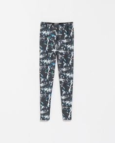 Image 6 of PRINTED LEGGINGS from Zara