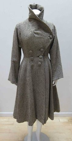 SPECTACULAR LILLI ANN Vintage New Look Coat, Extremely Rare