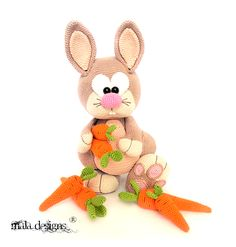 Voorjaarshazen Crochet Rabbit, Online Publications, English Language, Crochet Patterns, Bunny, Presents, Teddy Bear, Amigurumi, Projects