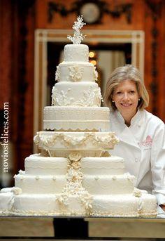 Tarta de bodas de Kate Middleton y el Príncipe William